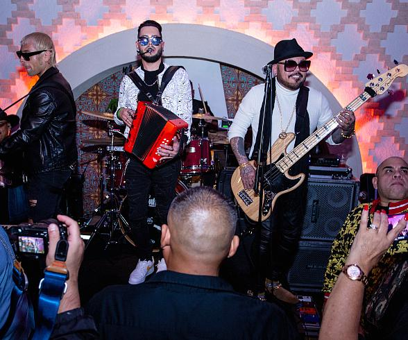 Latin Grammy's After-Party at Mama Rabbit atPark MGM