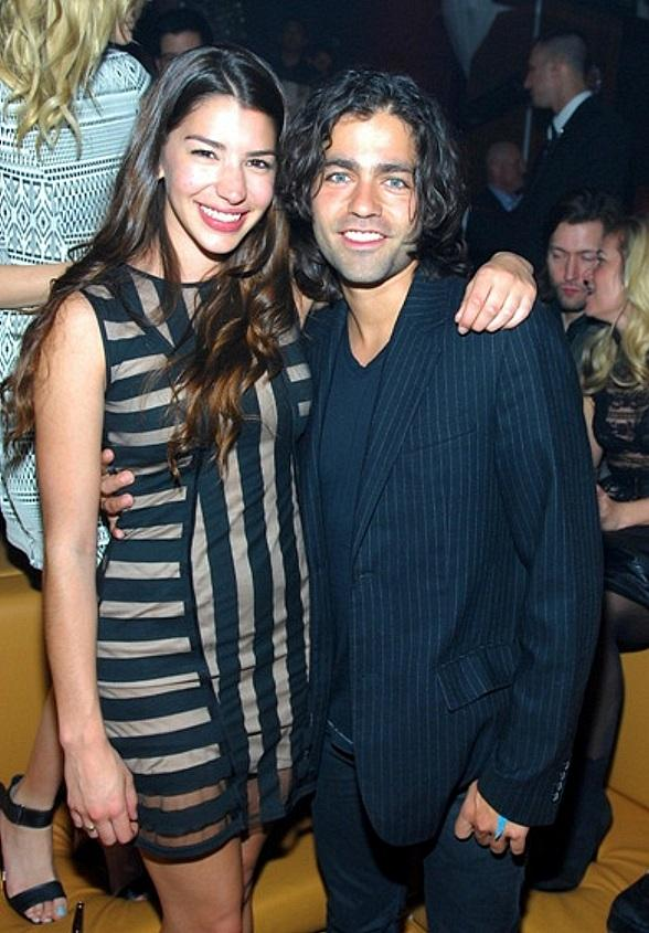 Jamie Gray and Adrian Grenier at Hyde Bellagio in Las Vegas