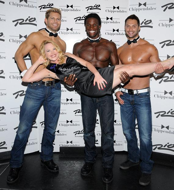 Adrienne Frantz at Chippendales