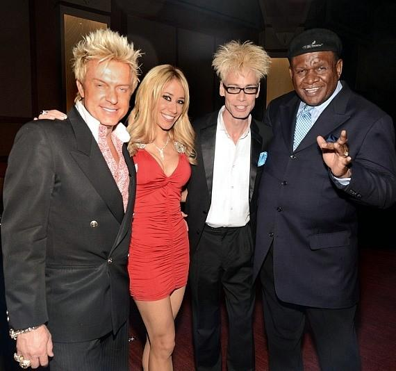 Chris Phillips, Lydia Ansel, Murray SawChuck and George Wallace