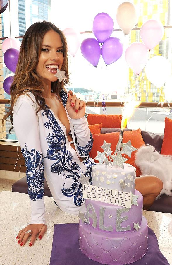 Alessandra Ambrosio at Marquee Dayclub