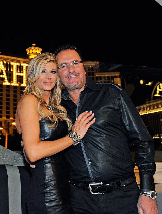 Alexis and Jim celebrate their anniversary at Chateau Nightclub