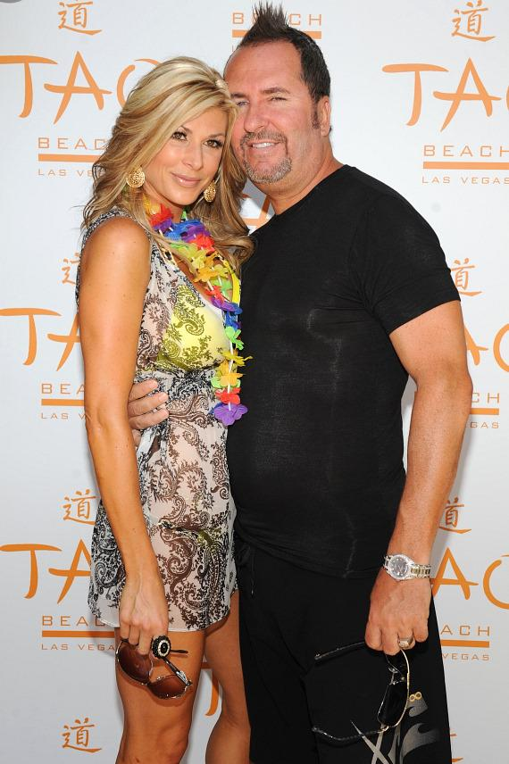 Alexis Bellino of 'The Real Housewives of OC' Celebrates Husband Jim's Birthday at TAO Beach