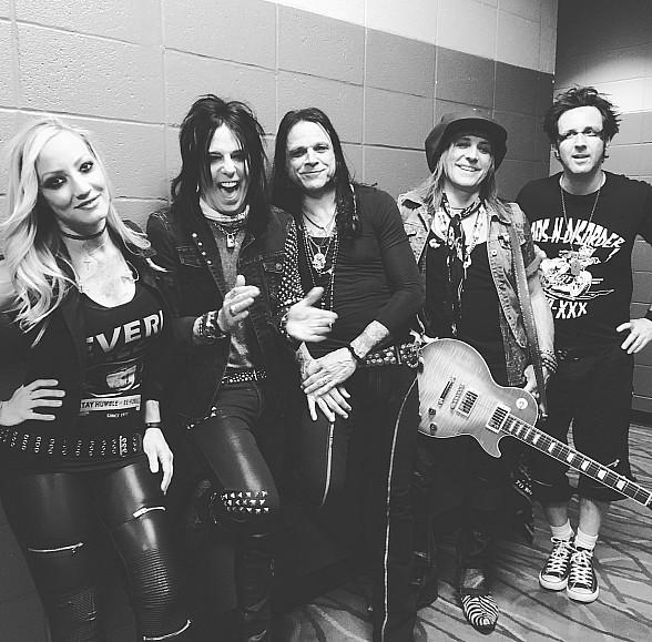 Alice Cooper Band Members to Perform a Pop-Up Concert at The Sayers Club inside SLS Las Vegas on Friday, Aug. 11