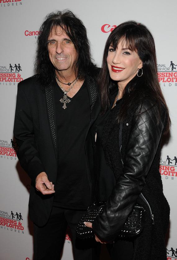 Alice Cooper and Sheryl Goddard