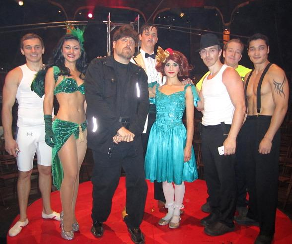 The Amazing Johnathan Attends ABSINTHE