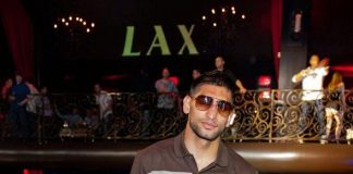 World Champion Boxer Amir Khan Takes Over LAX Nightclub For Official Post-Fight Party