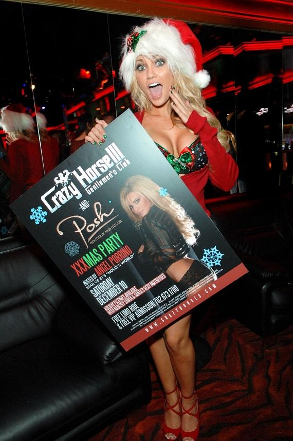 Angel Porrino with her poster at Crazy Horse III