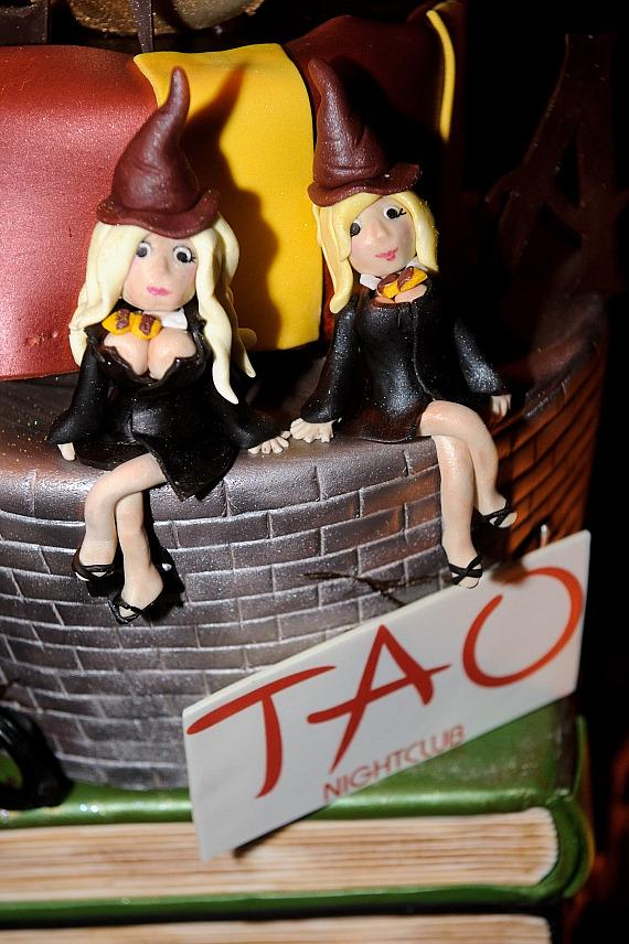 Angel Porrino's birthday cake at TAO