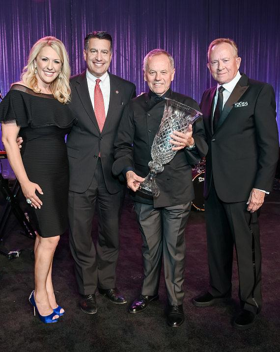Chef Wolfgang Puck Receives