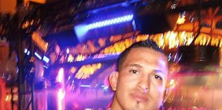 Anthony Pettis at Chateau Nightclub & Rooftop