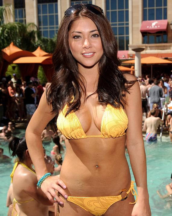 Arianny Celeste at TAO Beach