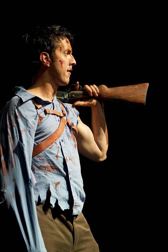 """""""Ash"""" from Evil Dead: The Musical"""