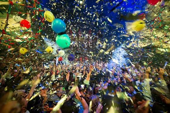 Kaskade performs on New Year's Eve at Marquee