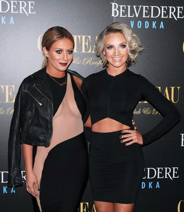 Danity Kane Singers Aubrey O'Day and Shannon Bex Celebrate Release of New album at Chateau Nightclub & Rooftop