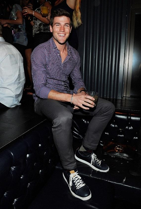 Audrina Patridge Poses in VIP Section at Chateau Nightclub & Gardens