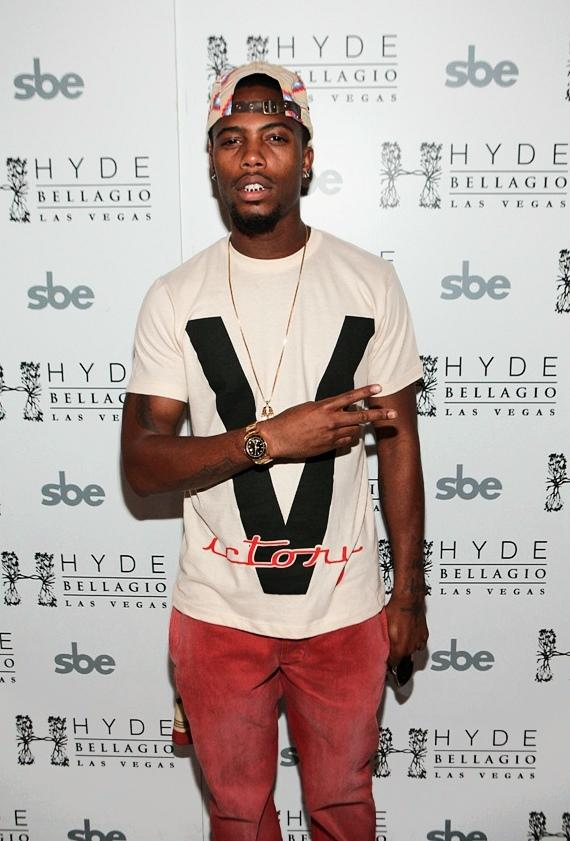 B.o.B red carpet at Hyde Bellagio, Las Vegas