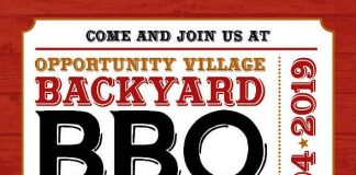 Saddle up for Opportunity Village's Backyard BBQ Bash TODAY, Saturday, May 4 at 5PM!