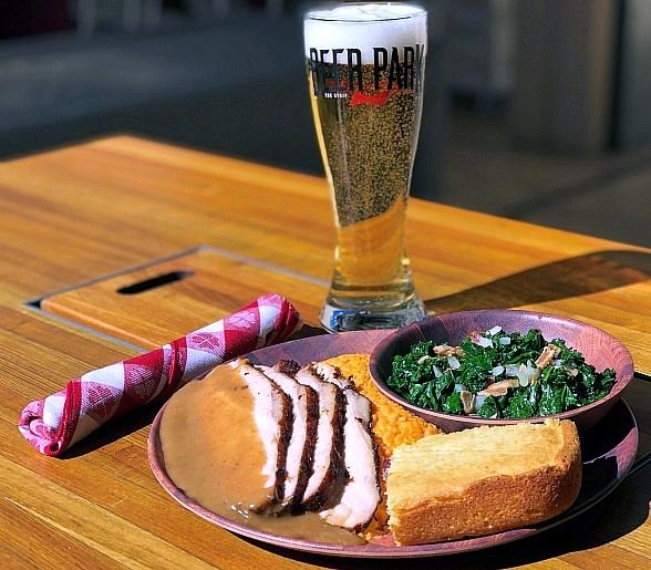 Touchdown with Turkey at BEER PARK at Paris Las Vegas this Thanksgiving