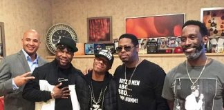 Sisqo attends Boyz II Men's Show at The Mirage