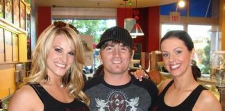 FANTASY's Tracey and Koree with Country Superstars' Cody Collins