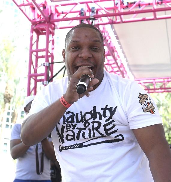 Naughty by Nature Performs at Flamingo Las Vegas' GO Pool Dayclub