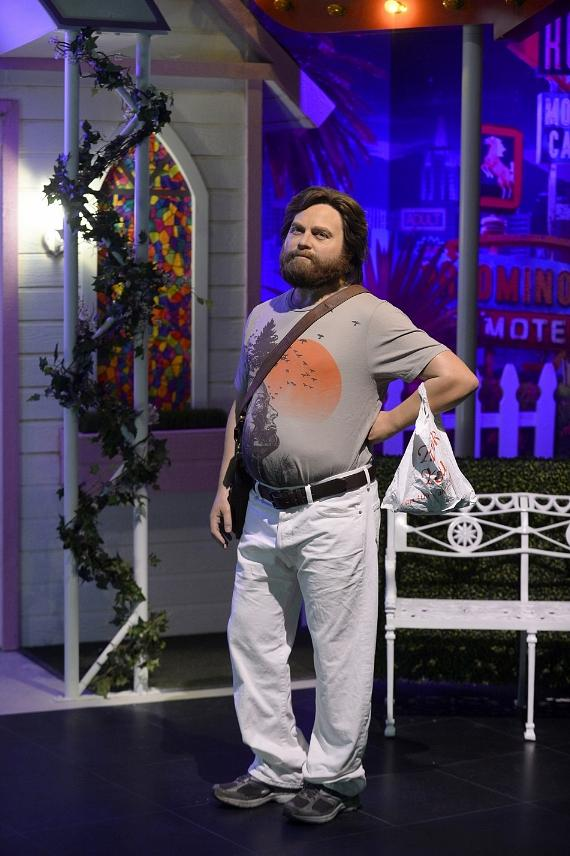 """On National Hangover Day, Madame Tussauds Las Vegas Debuts """"The Hangover Experience"""" and New """"Alan"""" Figure"""