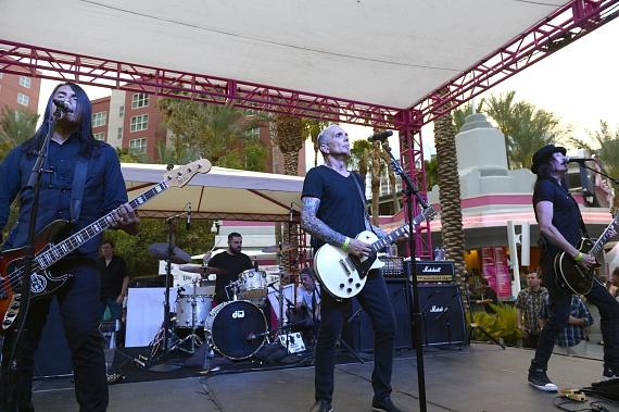 Grammy-Nominated Band Everclear Performs at The Flamingo GO Pool in Las Vegas