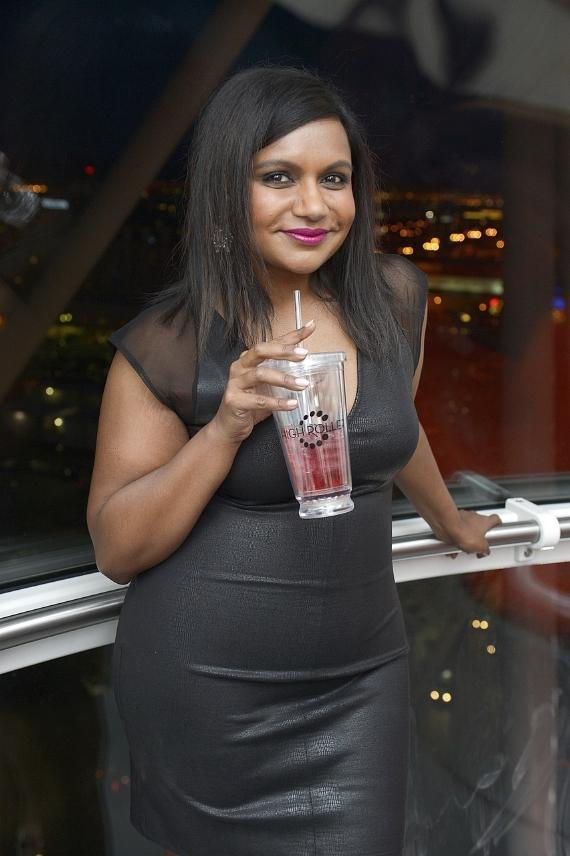 "Mindy Kaling from ""The Mindy Project"" inside The High Roller"