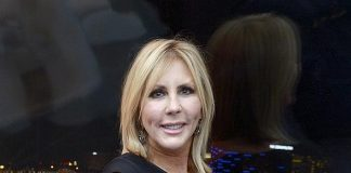 TV Personality Vicki Gunvalson Rides The High Roller at The LINQ in Las Vegas