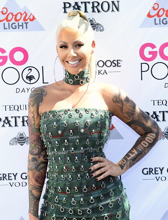 Amber Rose Performs at Flamingo Las Vegas' GO Pool Dayclub; Tori Brixx Performs Next Door at Influence, the Pool at The LINQ