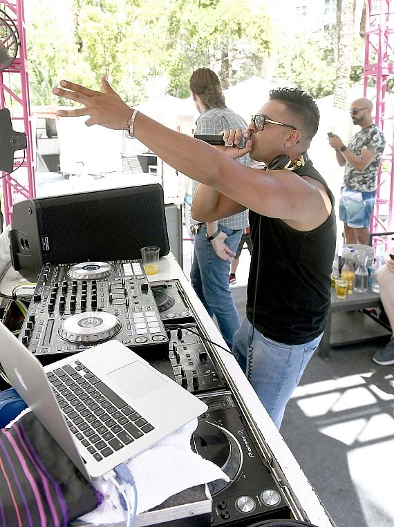 Jay Sean Performs at Flamingo Las Vegas' GO Pool Dayclub