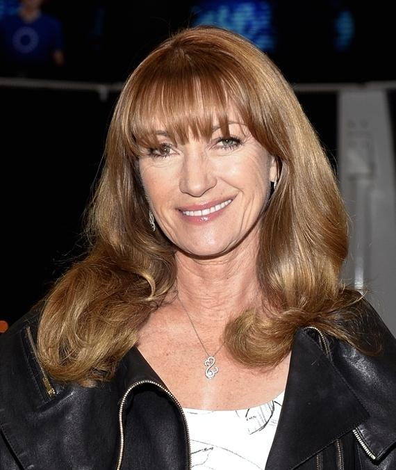 Actress Jane Seymour Rides the High Roller Observation Wheel on the World-Famous Las Vegas Strip