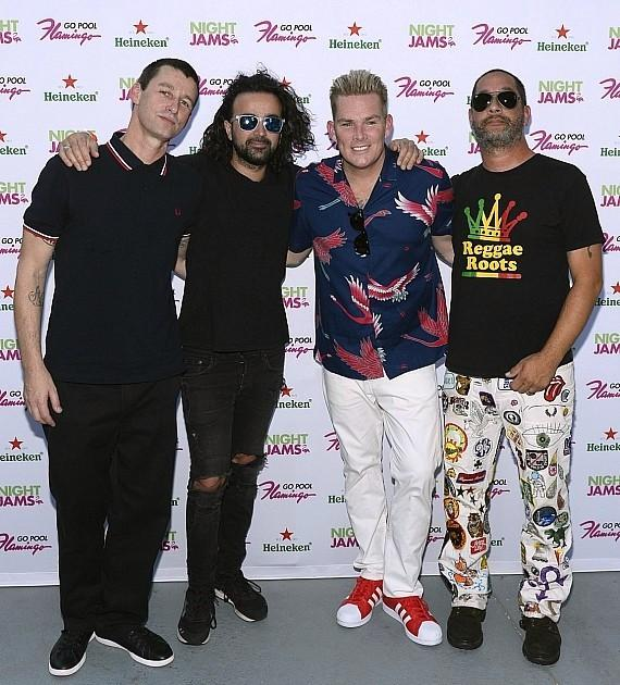 Mark McGrath and Sugar Ray at The Flamingo Go Pool in Las Vegas