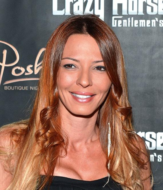 Drita D'Avanzo on the red carpet at Crazy Horse III