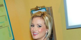 Holly Madison Attends Opening of The Discovery Children's Museum