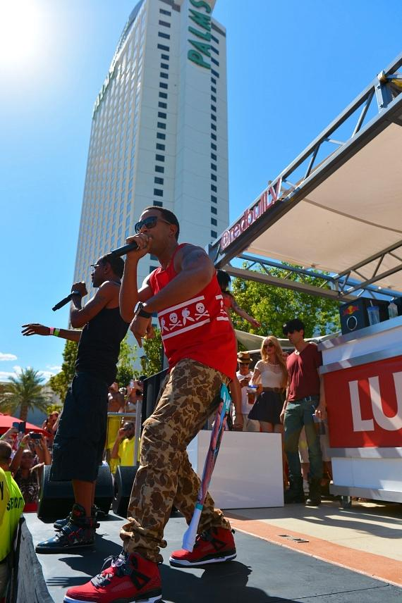 Lil Fate and Ludacris perform at Palms Casino Resort