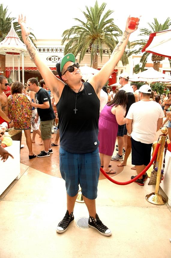 Rome of 'Sublime with Rome' performs at Encore Beach Club in Las Vegas