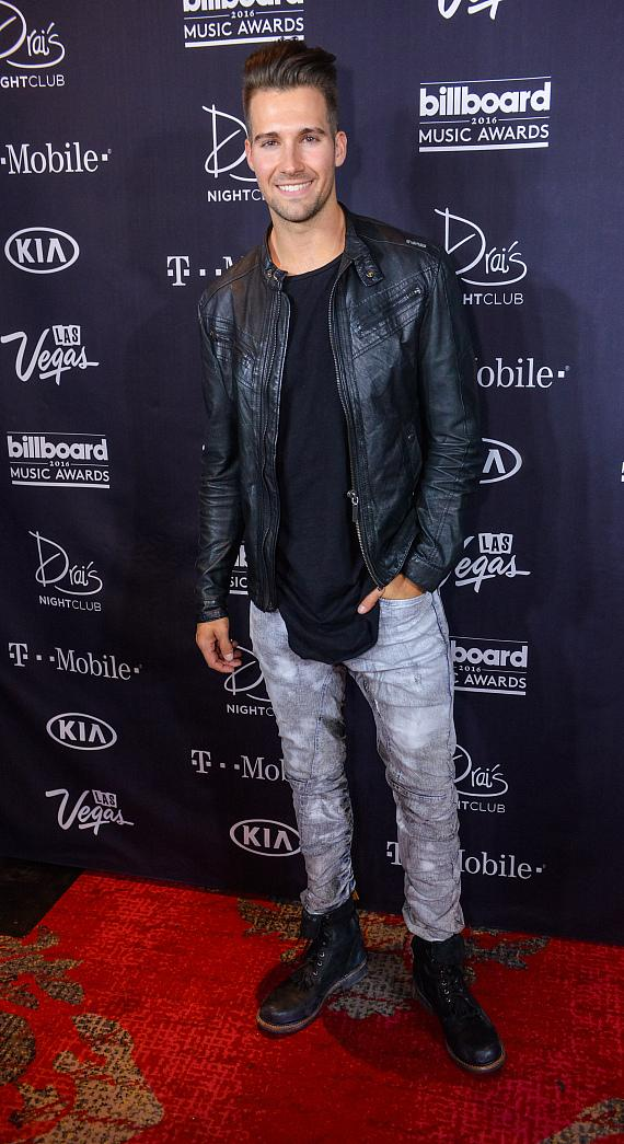 BTR Star James Maslow Attends the Official 2016 Billboard Music Awards After Party at Drai's Nightclub in Las Vegas