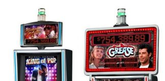 Michael Jackson King of Pop and Grease Slot Machines from Bally Technologies