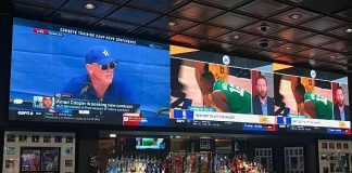 Treasure Island Las Vegas Goes Big and Bold in New Golden Circle Sports Bar with 24' by 5' NanoLumens LED Display