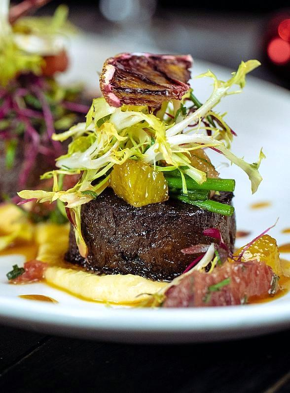 Christmas Dishes at Beauty & Essex & LAVO in Las Vegas