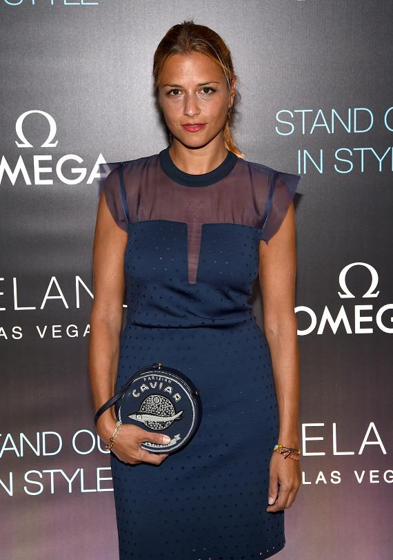 Actress and event host Jaime King arrives on the red carpet at Delano Las Vegas' Grand Opening Party, 9.18.14-588