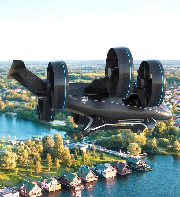 Air Taxi Prototype Shown at CES in Las Vegas Still a Distant Dream