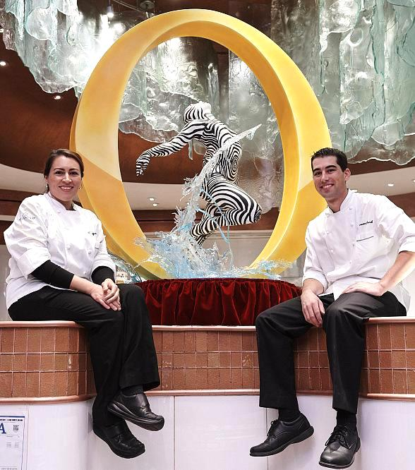 """O"" My! Bellagio Pâtisserie Unveils New Chocolate Sculpture in Celebration of Resort's 20th Anniversary"
