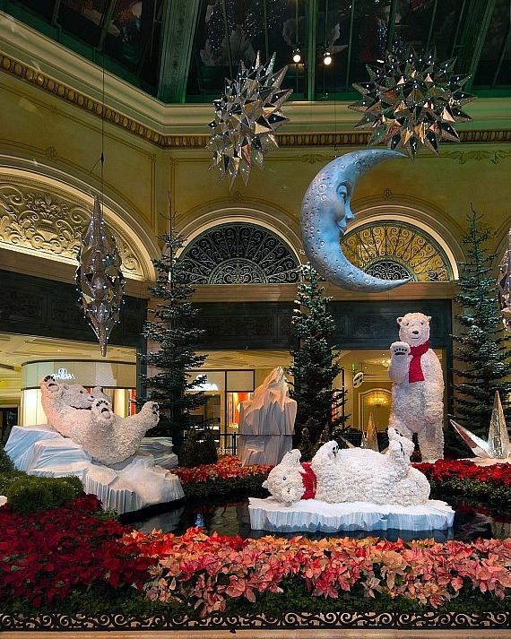 Bellagio Conservatory South Garden Holiday 2018