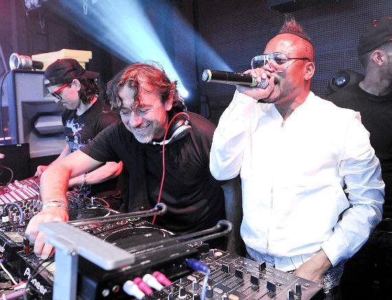 Benny Benassi and ApldeAp at Marquee