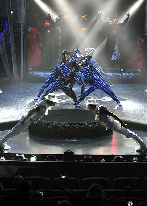 Michael Jackson ONE by Cirque du Soleil to Start Preview Performances May 23