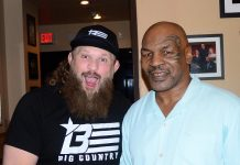 "UFC Fighter ""Big Country"" Roy Nelson Attends Mike Tyson's ""Undisputed Truth - Round 2"" at MGM Grand Las Vegas"