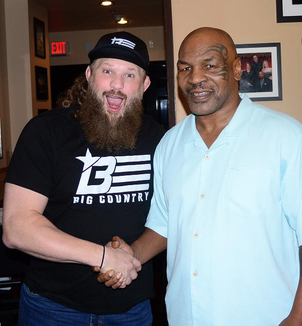 """UFC Fighter """"Big Country"""" Roy Nelson Attends Mike Tyson's """"Undisputed Truth - Round 2"""" at MGM Grand Las Vegas"""